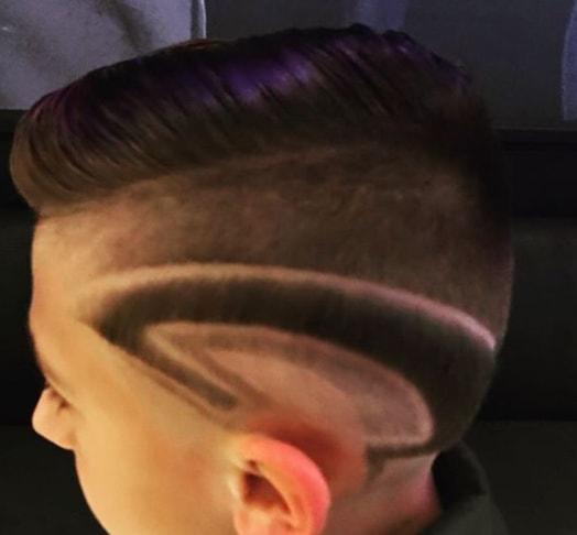 Medium Length Hair With Surgical Designs