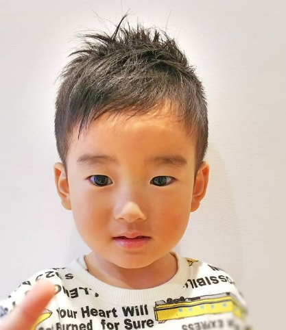 Simple And Messy Baby Boy Haircuts