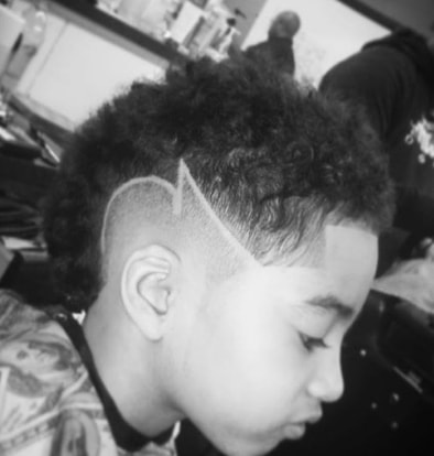 Curly Mohawk With Surgical Design
