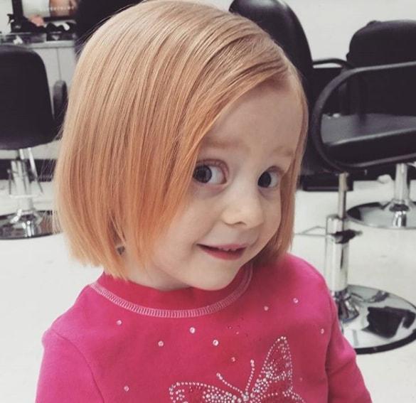 Bob Haircut for Little Girl