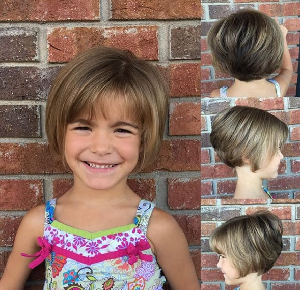 70 Short Hairstyles For Little Girls 2020 That Will Look Adorable On Your Little Girl
