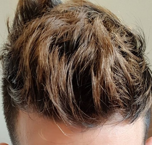 High Fade Textured Brushed Back Hairs