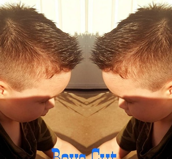 Short Spikes Haircuts for Kids