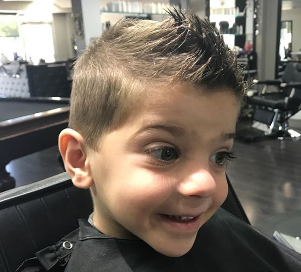 Spiked Hairstyle for Kids - Cool Haircut for Boys