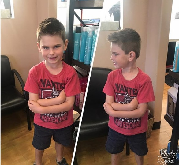 Short Spikes for Kids - Cool Haircut for Boys