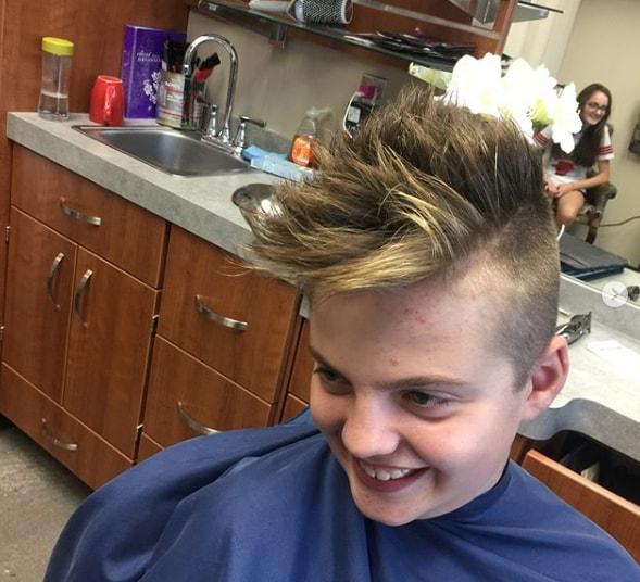 Cool Haircut for Boys