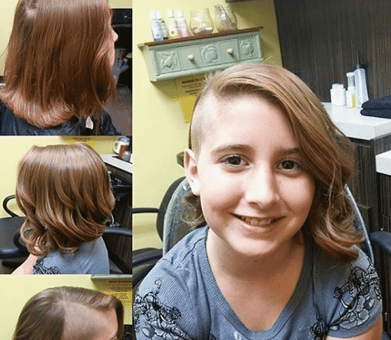 Girls Shaved Hairstyles