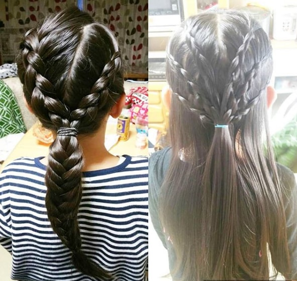 Fancy Hairstyle Featuring Braids
