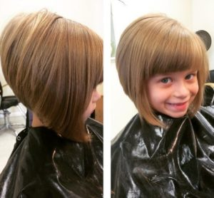 Full Helmet Bob Haircut For Cute Girls