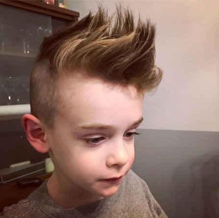 Long Spiky Mohawk for boys