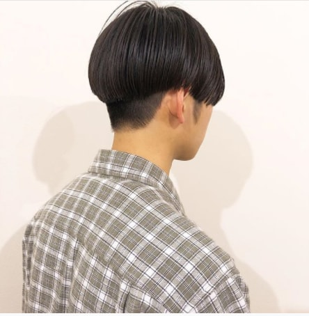 Boy Silky Hairstyle for Medium Length