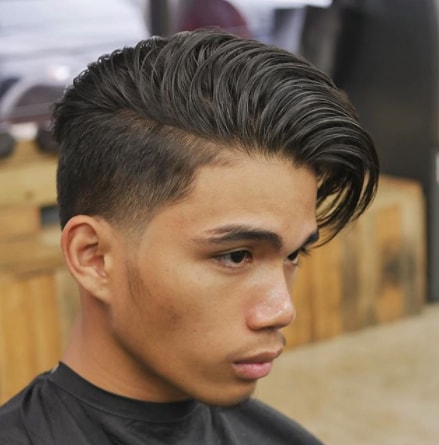 Popular Side Part Haircut for Boy