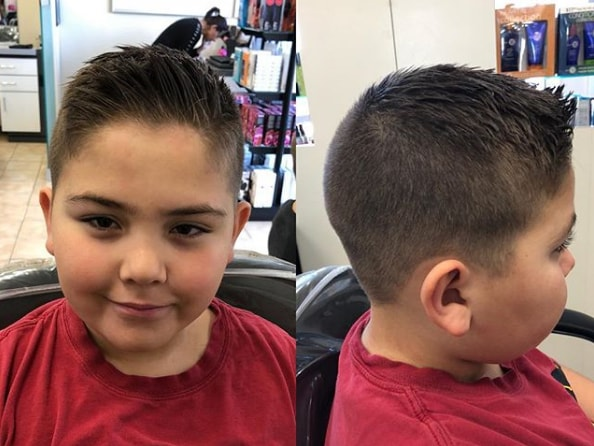 High and Tight Haircut for boy