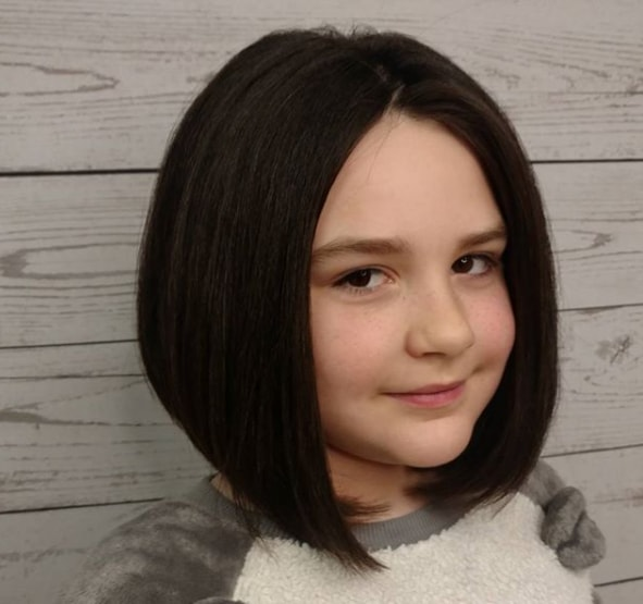 A Line Bob Hairstyle