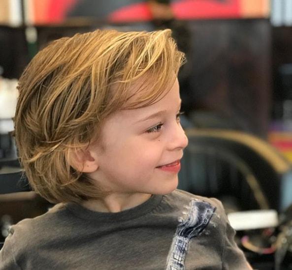 Medium Bob Haircut for Boy