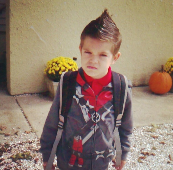 Mohawk Hairdo for Kids