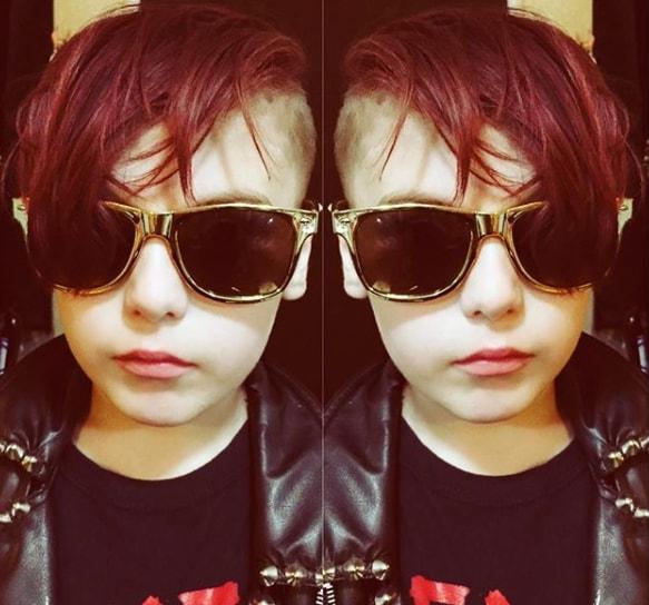 Punk Rock Tot Haircut