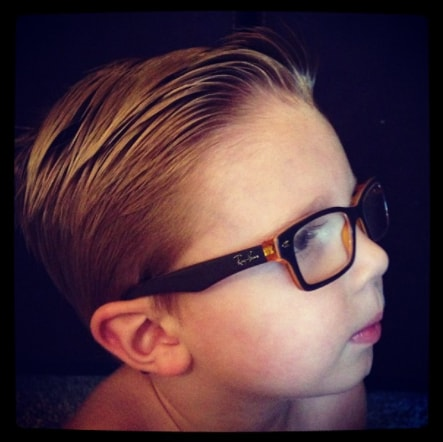 Slicked Back Hairstyle