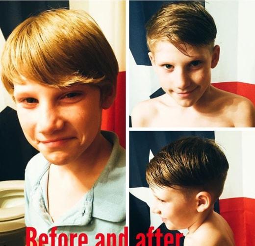 Long Side Swept Hair