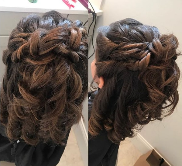 Beautiful Party Wavy Hairstyle for Cute Girls