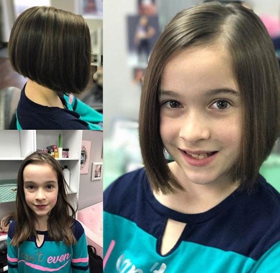 Girl Bob Haircut