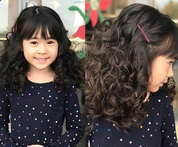Extra-Wavy With Bangs