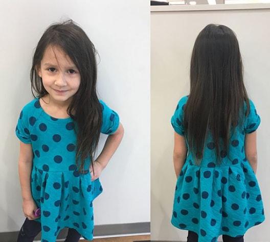 Side Swept Long Hair