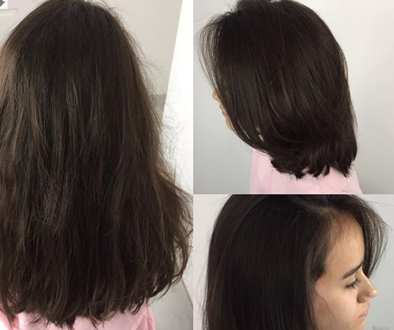 Simple Layered Long Silk Girl Haircut