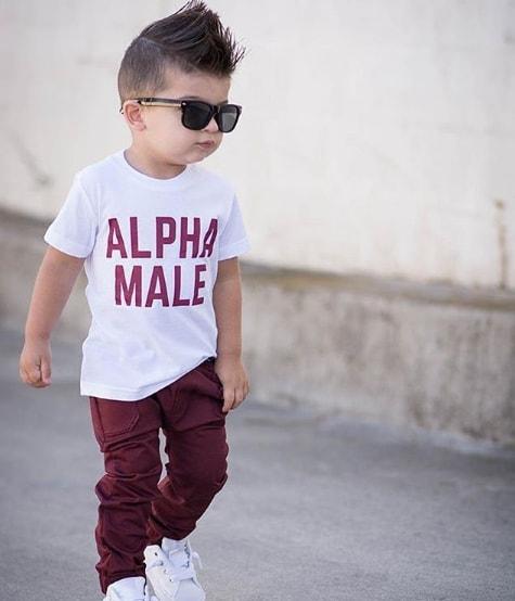 High Fade Mohawk Cute Boy Haircut