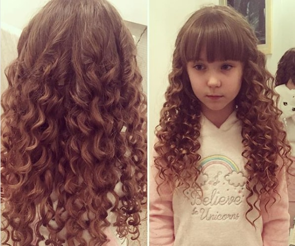 Loose Curls For Little Girls