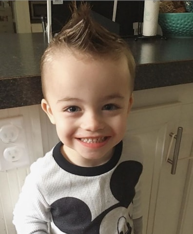 Simple Mohawk for Toddler Boy Hairdo
