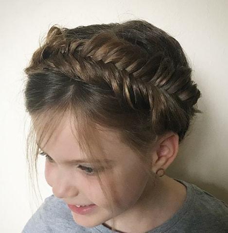 Queen Elsa Braid - Cute Girl Haircut