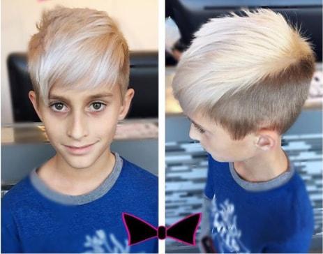 Rocker Hairstyle - Toddler Boy Haircut