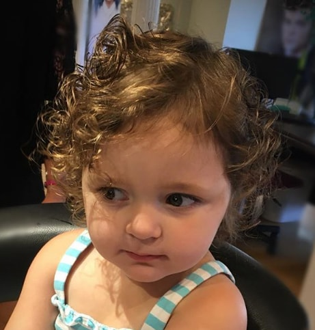 Messy Bob Hairstyle for little girl