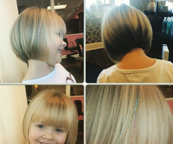 Conventional Bob With Bangs