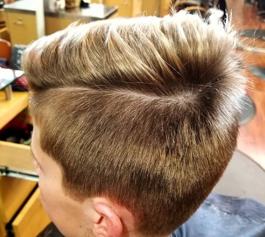 Soft Taper Haircut With Texture
