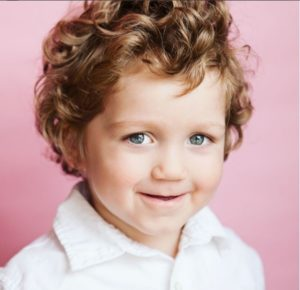 Toddler Boy Curly Hairstyle