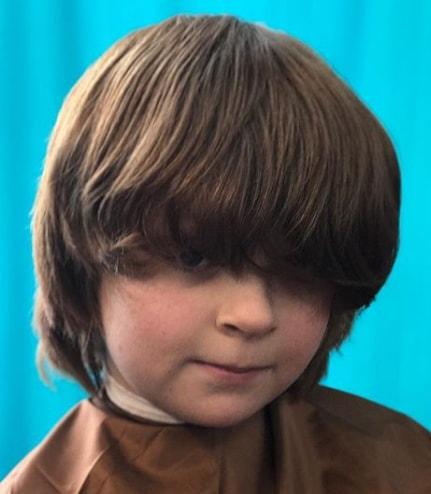 Wavy Shag Boy Haircut