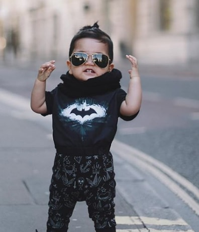 Baby Boy The Batman Style