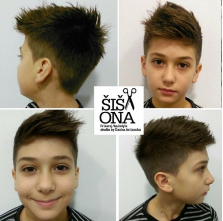 Spikes With Undercut