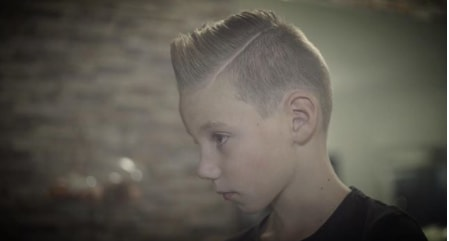 Hard Parted Mohawk