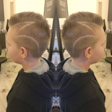Surgical Mohawk Hairstyle