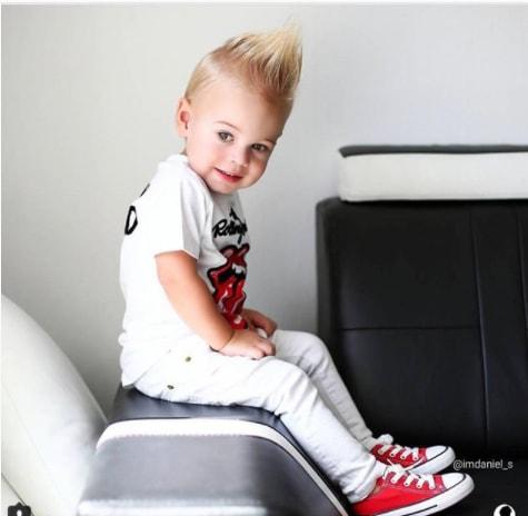 Spikes Boys Trendy Haircut 2018