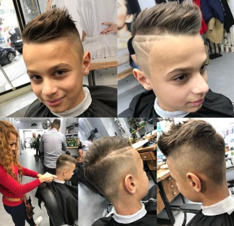 Side Swept Spikes With An Undercut