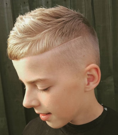 Short Hair With Skin Fade