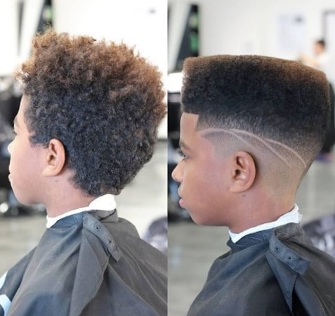Flat Top With Side Fade And Surgical Design