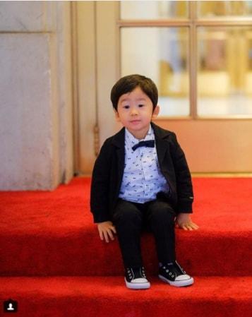 Side Swept Chaina Boy Look - Toddler Boy Haircut