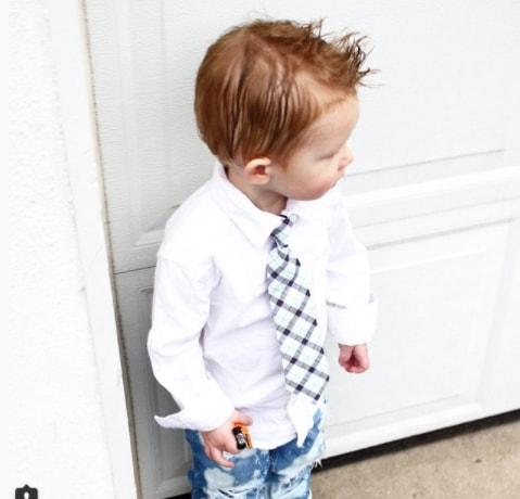 Spiky Toddler Boy Haircut