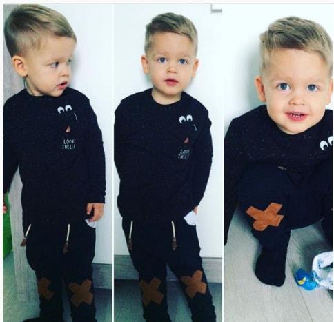 Swept Bangs Toddler Boy Haircut