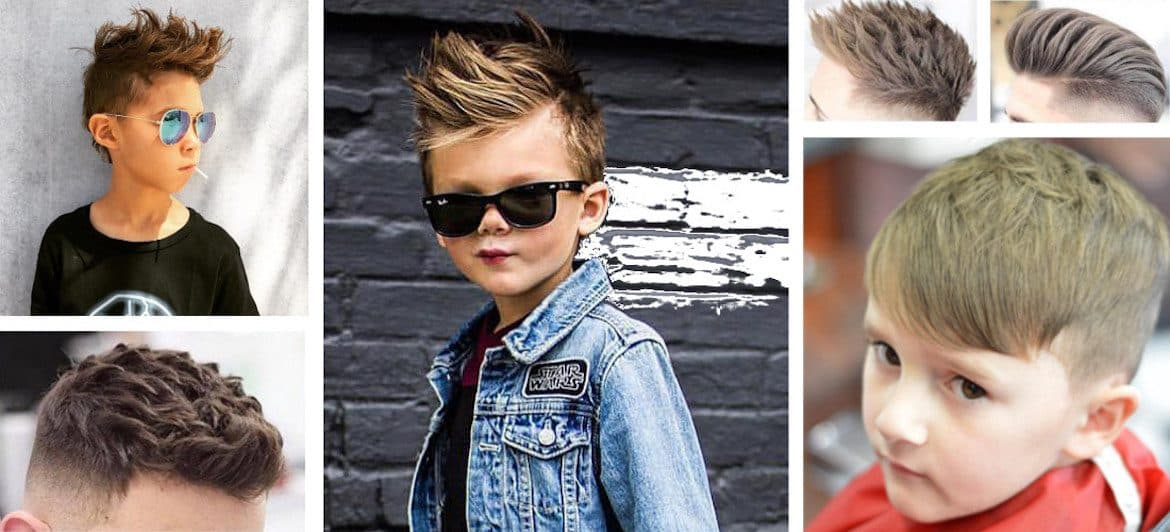 Kid Hairstyles Boy 2018: 70 Best Boys Trendy Haircuts 2018
